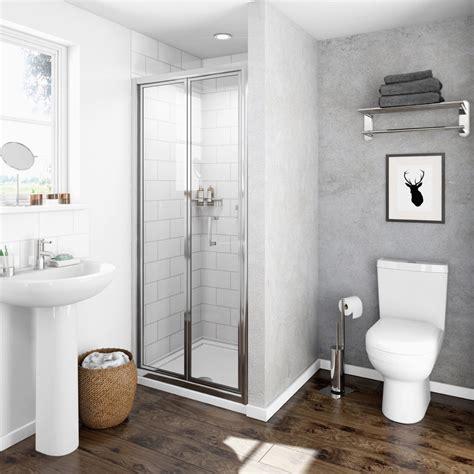 shower glass door clarity 4mm bifold shower door victoriaplum
