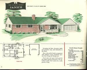 quaint house plans factory built houses 28 pages of lincoln homes from 1955