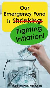 How Our Emergency Fund Is Fighting Inflation