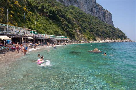 Bagni Di Mare Bagni Tiberio Spiaggia Con Ristorante A