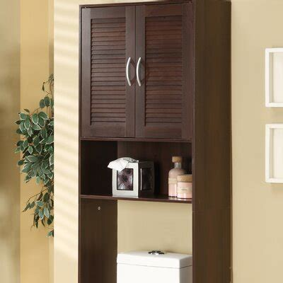 freestanding  toilet cabinet ana white woodworking