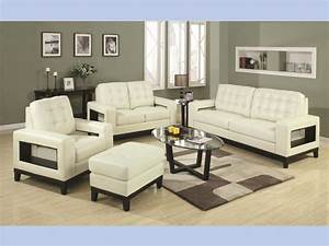 Paige beige contemporary sofa loveseat sofa loveseat for Rana furniture living room sets
