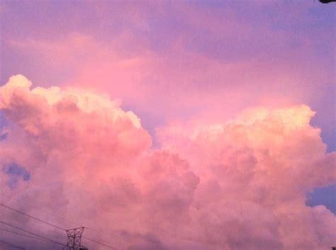 Pink Clouds Tumblr