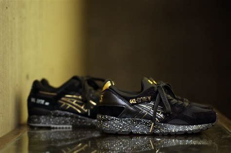 atmos asics gel lyte v black gold sneaker bar detroit