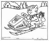 Snowmobile Ski Doo Coloring Pages Skidoo Drawing Getcolorings Printable Print Getdrawings sketch template