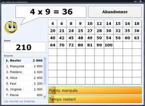 multiplication jeu 233 ducatif gratuit pour apprendre les tables de multiplication aux enfants