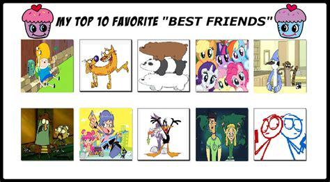 top  favorite  friends  cartoonstar  deviantart