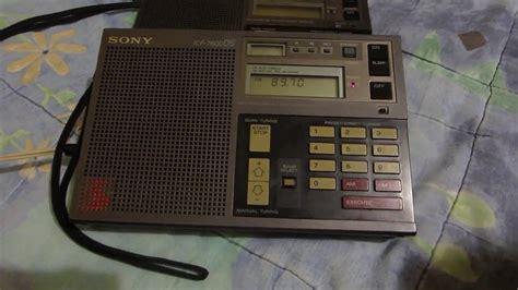sony icf 7600ds radio digital multibanda ソニーの lw mw sw fm youtube