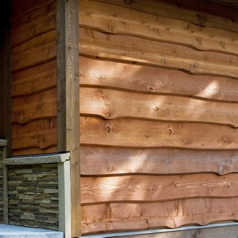 haida skirl wavy cedar siding weekes forest products