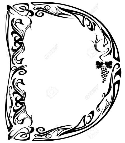 letter d floral design stock vector 169 kudryashka 3233753 letter j design lettering designs free picture 40767