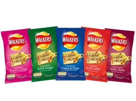 walkers flavour promotion