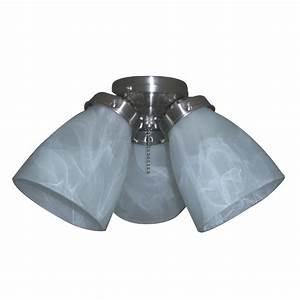 Harbor breeze light brushed nickel ceiling fan