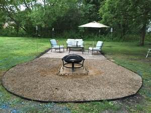 Can You Put Fire Pit Concrete Image