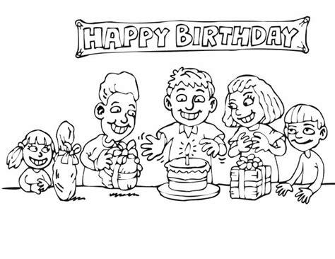 Kleurplaat Happy by Happy Birthday Kleurplaat Tropicalweather