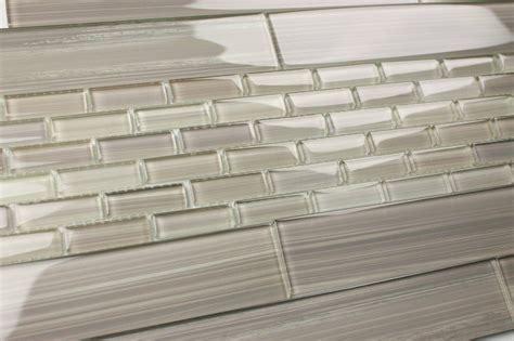 light gray 2x12 painted subway glass tile kitchen for backsplash bathroom ebay