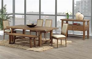 Warm and rustic dining room ideas furniture home for Rustic modern dining room chairs