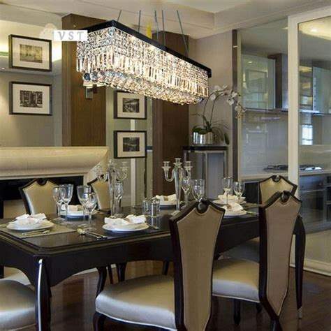 modern dining room chandeliers combined with