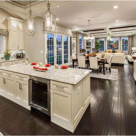 open kitchen great room floor plans 371 best open floor plan decorating images on 9008