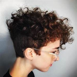 70 Most Gorgeous Mohawk Hairstyles of Nowadays | Curly ...