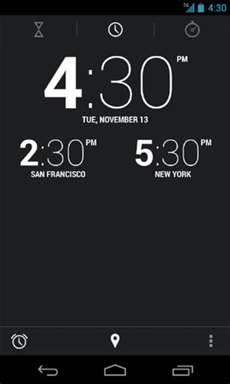 time for android get a world clock on your android 4 2 lock screen