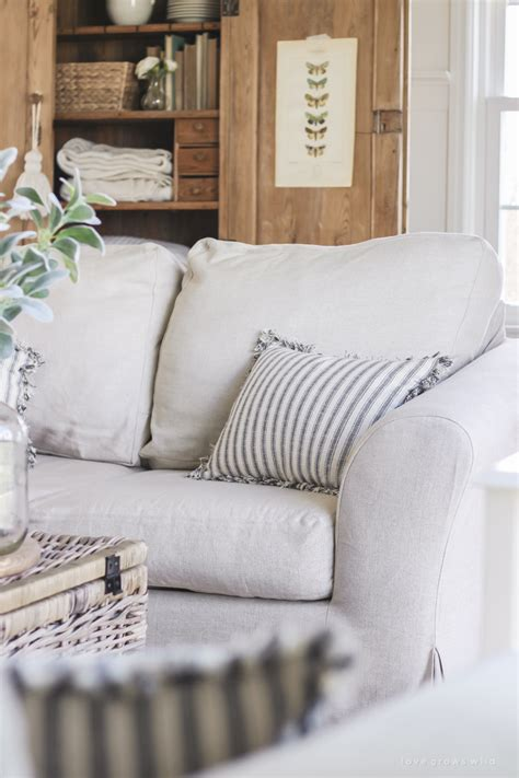 Living Room Slipcovers  A Comfort Works Review  Love
