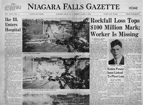 German U Boat Niagara Falls by Niagara Falls Power Plant Disaster