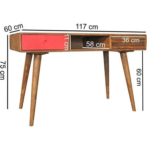 misure scrivania scrivania repang misure cm 80x120x55 in legno dettaglio