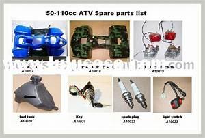 Fsn 110cc Atv Parts  Fsn 110cc Atv Parts Manufacturers In