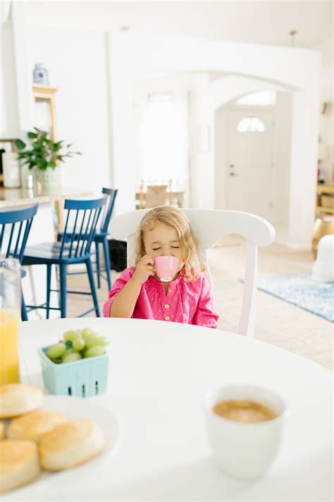 Family Friendly And Colorful by A Bright White Kitchen With Mema S Blue Hutch Megan