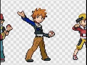 Editing Pokemon Trainer Sprites - YouTube