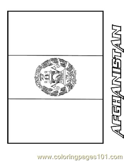 afghanistan coloring page  flags coloring pages coloringpagescom