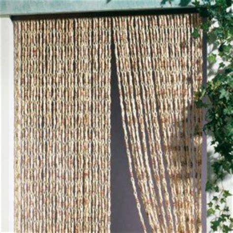 rideau de porte malaga 100x220 cm naturel amazon fr