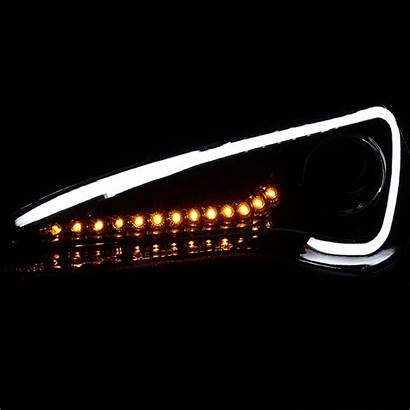 Scion Headlights Led Sequential Projector Signal Jet