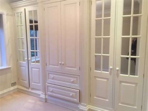 Dressing Room Cupboards by Approx 4yr Bespoke Painted Dressing Room Cupboards