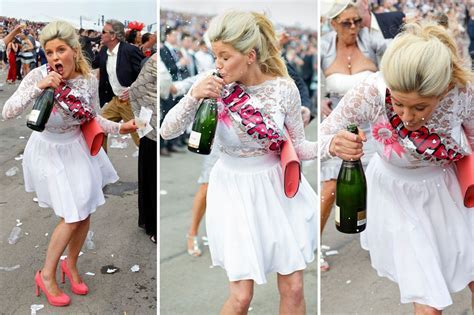 Aintree Ladies Day 2015: Glamorous girls shout themselves