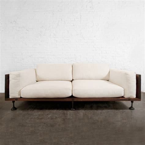 Sofa Industrial by Industrial Furniture Such Such About The House