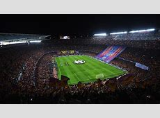 Camp Nou Barcelona PSG Champions League Goalcom
