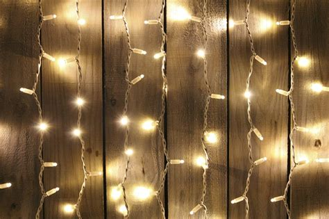 Curtain Fairy Lights-m X M-white Cable