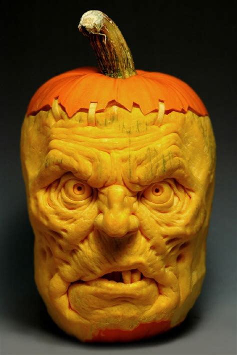 pumpking carvings pumpkin masterpiece by ray villafane angryboar com magazine