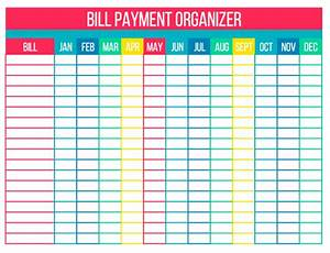 organize your bills with free printables simply stacie With free bill paying organizer template