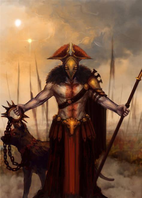 Ares God Of War By Eyari On Deviantart