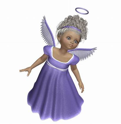 Angel Angels 3d Purple Clipart Transparent Clip