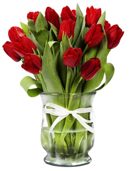 flower vase png transparent vase with tulips gallery yopriceville