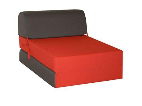chauffeuse lit d appoint 1 place chappo coloris gris et