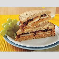 Peanut Butter And Pear Sandwiches Recipe Myrecipes