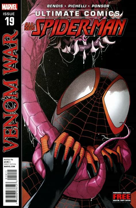 ultimate comics spider 19 venom war part 1 issue