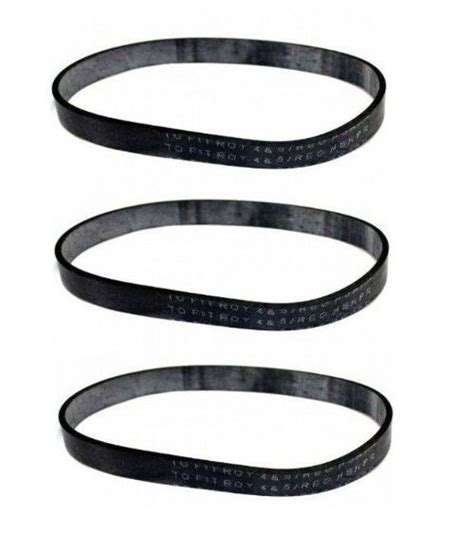 vaccum belts 3 vacuum belts for bissell style 10 7 9 12 ebay