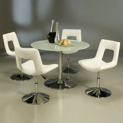 round table dublin ca pastel furniture sundance frosted glass 5 piece dining set