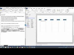 Draw A Simple Sequence Diagram In Visio 2013