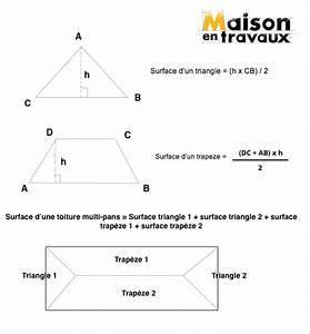 Calculer la surface d un toit